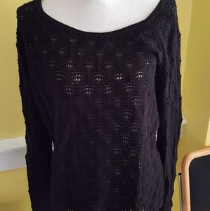 Talbot open weave sweater